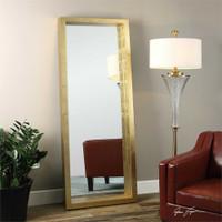 Uttermost Edmonton Gold Leaner Mirror
