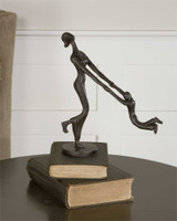 Uttermost At Play Mother & Child Sculpture