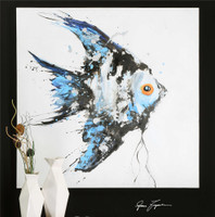 Uttermost Blue Angel Ocean Art