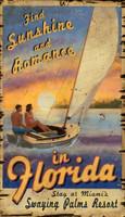Vintage Sailing Florida Sign