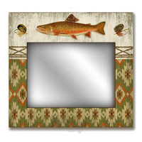 Adirondack Mirror Sign