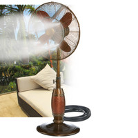 Outdoor Fan Misting Kit Portable Electric Fan