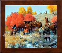 The Higher You Go, the More You See - Clark Kelley Price Framed Giclee