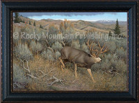 Sagebrush Escape - Hayden Lambson Wildlife Art Giclee
