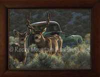 Reclamation - Greg Beecham Framed Giclee - Wildlife Art