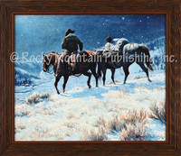 The Lights of Home - Clark Kelley Price Western Art Giclee