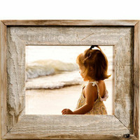 8.5x11 Country Picture Frame, Narrow Width 2 inch Lighthouse Series