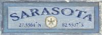 Vintage Sarasota City Sign
