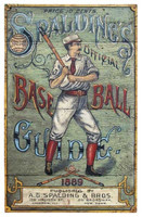 Vintage Baseball Guide Sign