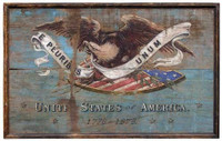 Vintage American Shield Sign