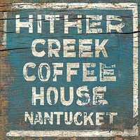 Vintage Coffee House Sign