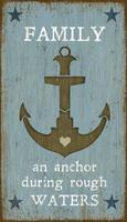 Vintage Anchor Sign