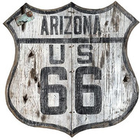 Vintage Arizona Route 66 Sign