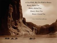 Vintage Navajo Prayer Sign