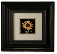 6X6 Square Black Picture frame