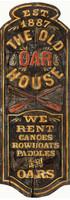 Vintage Oar House Sign