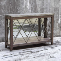 Uttermost Delancey Iron Console Table