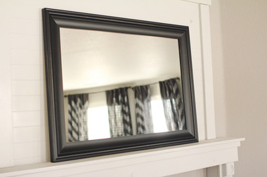 Black Poplar Mirror - 24X36 Pictured