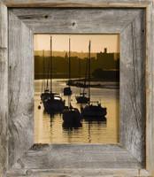 20x24 Barnwood Frame, Medium Width 2.75 inch Lighthouse Series