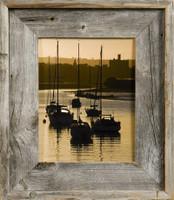 18x24 Barnwood Frame, Medium Width 2.75 inch Lighthouse Series