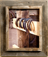8x8 Cowboy Picture Frames, 2.25 inch Wide, Western Rustic Series