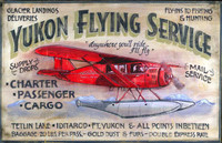 Vintage Aviation Signs - Yukon Flying Service