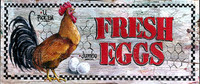 Vintage Sign - fresh eggs