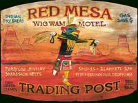 Nostalgic Motel Signs - Western Native American Sign