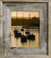 8.5x11 Rustic Picture Frame, Medium Width 2.75 inch Lighthouse Series