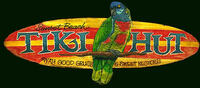 Vintage Beach Signs - Tiki Hut Bar