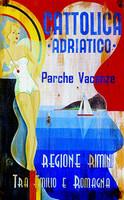 Vintage Beach Signs - Cattolica Adriatico Cruise