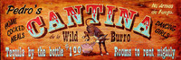 Vintage Signs - Cantina