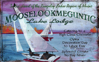 Lake Lodge - Custom Vintage Wooden Sign