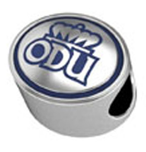 Old Dominion University Enamel Bead