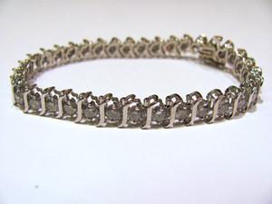 14K 5.0 ctw Tennis Bracelet