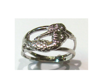 Sterling Mermaid Ring