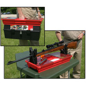 MTM Case Gard - Portable Rifle Maintenance Center (Red)