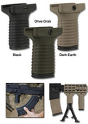 *Tapco Intrafuse Vertical Grip Short Dark earth