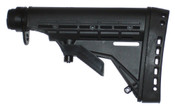 Phoenix Technology Tactical AR-15 / M4 Stock w/ Commercial Tube Black