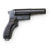 Polish Military Flare Gun (may have damaged grips or rust)