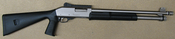 "Scorpio 12ga 18.5"" Barrel Nickel"