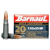 Barnaul 7.62x39 123gr Hollow Point 500rds