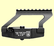 CSA VZ 58 Bridge Low Mount (Sightly used) + Side rail combo