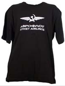 Parklands T-Shirt Soviet Airlines Black