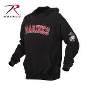 Rothco Marines Embroidered Pullover Hoodie