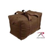 Rothco Canvas Parachute Cargo Bag Earth Brown