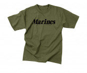 Rothco Olive Drab Marines Physical Training T-Shirt
