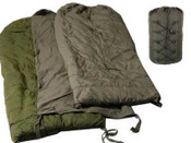 Surplus Canadian Forces Cold Weather Sleeping Bag (Refurbished) Includes Sleeping Hood!