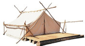 Canadian Army Surplus Woods Prospector Tent  10'x12'x6.5'