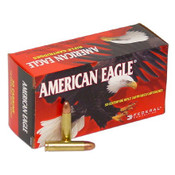 American Eagle 30 Carbine 110 Grain Full Metal Jacket Round Nose, 250 Rounds